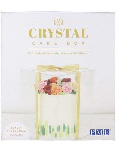 Caja para tarta CRYSTAL – PME